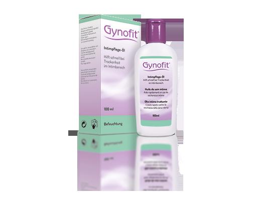 Gynofit Intimpflege-Öl verpackt und unverpackt